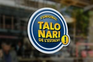 Branding Talonari de l'estalvi- Imagen corporativa - Inkterface
