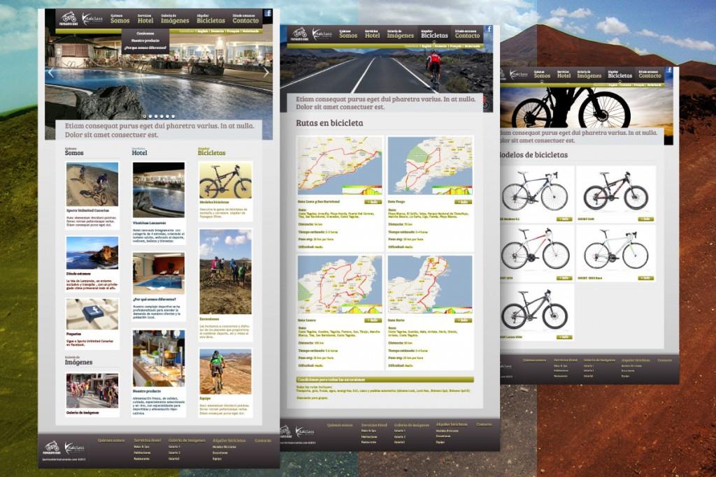 Página web Sports Unlimited Canarias - INKTERFACE